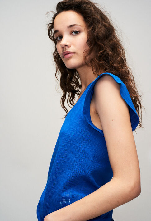 TRESSEH19 : T-Shirts farbe BLEU ROI