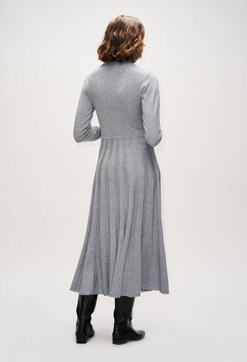MAMMAH19 : Kleider farbe GRIS CHINE CLAIR