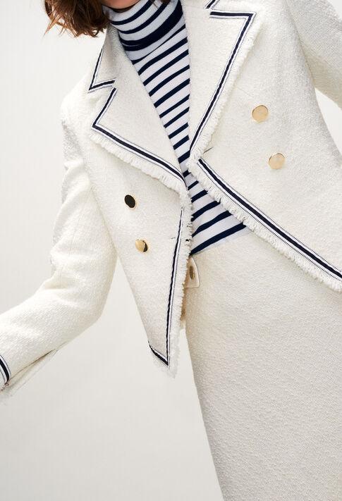 VANINAH19 : Jacken farbe ECRU