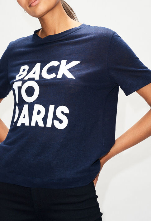 TEARSH19 : T-Shirts farbe MARINE