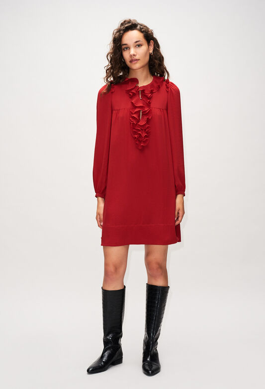 ROXANEH19 : Dresses color CERISE