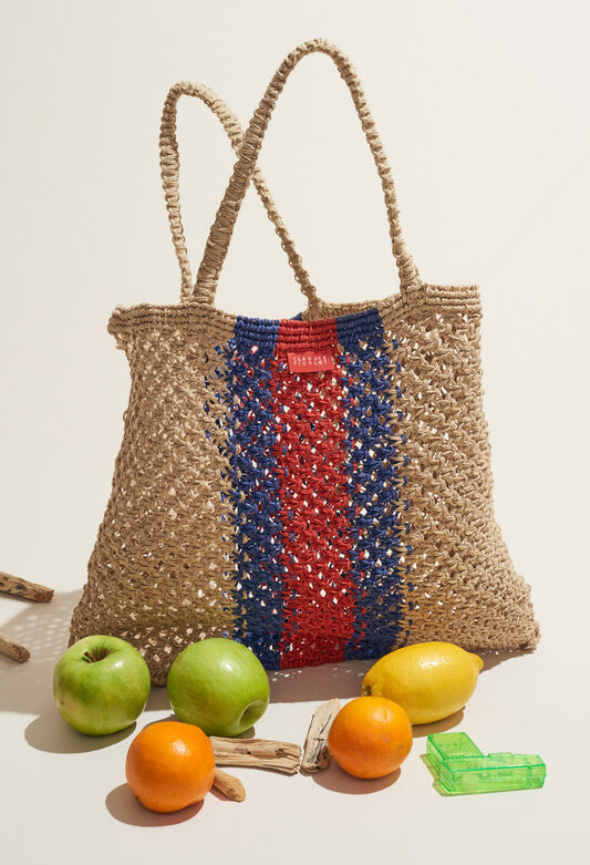 ABALI : Bags & Leather Goods color NATUREL