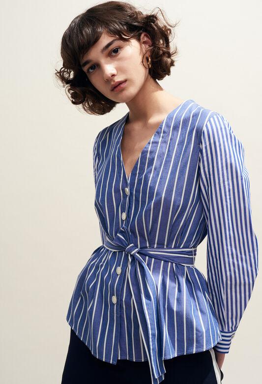 BANKSIA : Tops & Shirts color Indigo