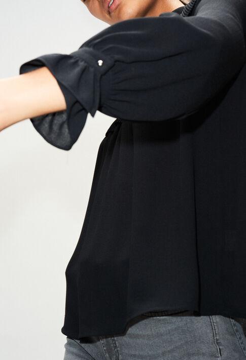 BERGAMOTTEH19 : Tops et Chemises couleur NOIR