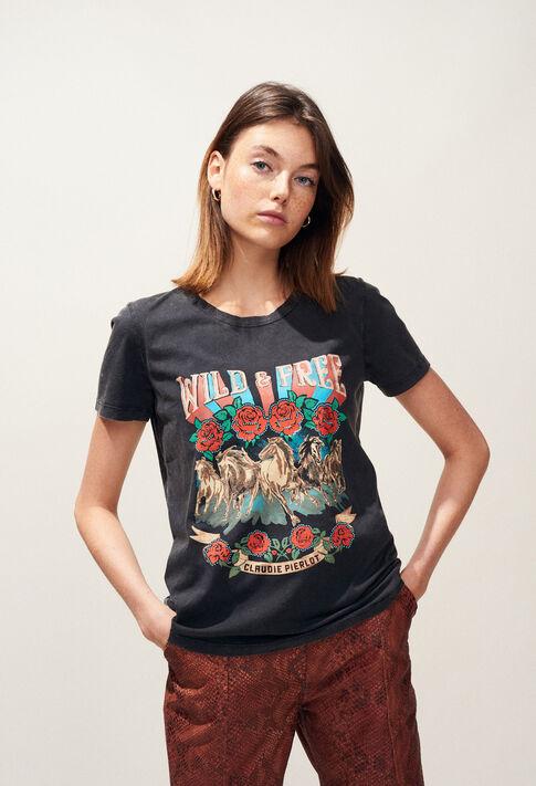 TORMENTO : T-Shirts couleur Noir