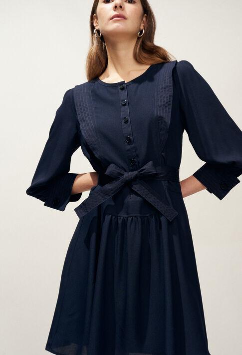 RIHANE : Kleider farbe Marine