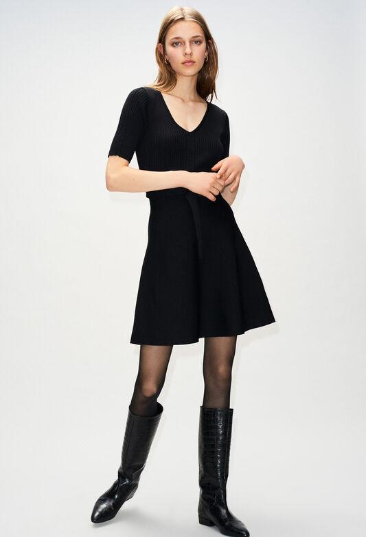 MANGALAH19 : Kleider farbe NOIR