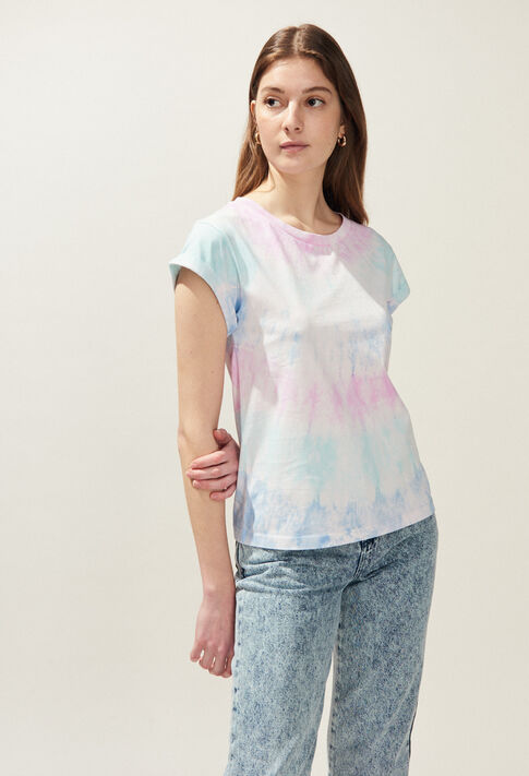 TIE&DYE : T-Shirts couleur MULTICO