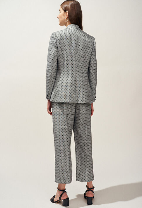 VICTORIUS : Blazers color Mottled Grey