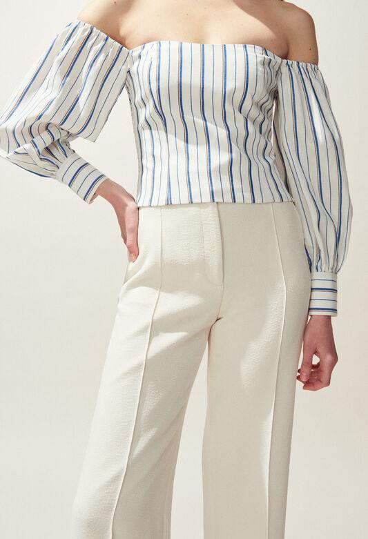 BRESKIA : Tops & Shirts color IVOIRE