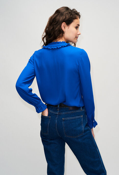 BUSINESSH19 : Tops et Chemises couleur BLEU ROI