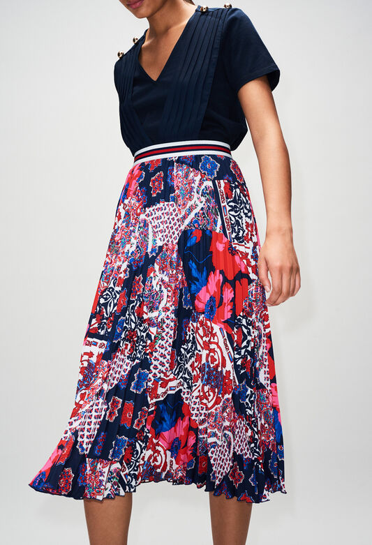 SIANAH19 : Skirts & Shorts color PRINT