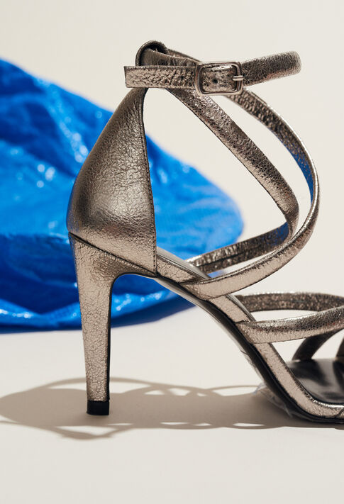 AZALEE : Chaussures couleur Argent