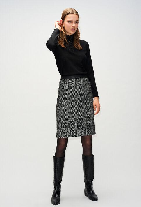 SAPONEH19 : Jupes et Shorts couleur BICOLORE
