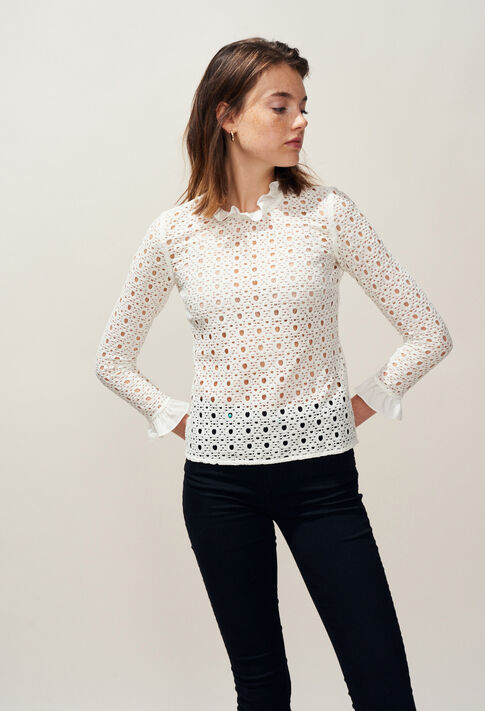 BARDBURY : Tops & Shirts color BLANC
