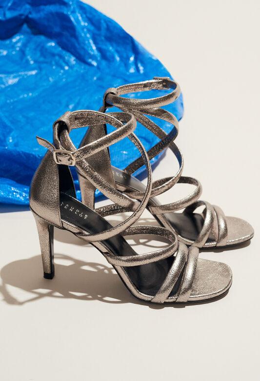 AZALEE : Schuhe farbe ARGENT