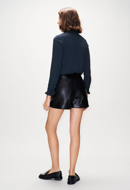 EDMONDCUIRH19 : Jupes et Shorts couleur NOIR