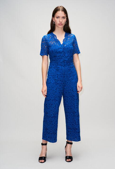 JUDITHBISH19 : Pantalons et Jeans couleur BLEU ROI