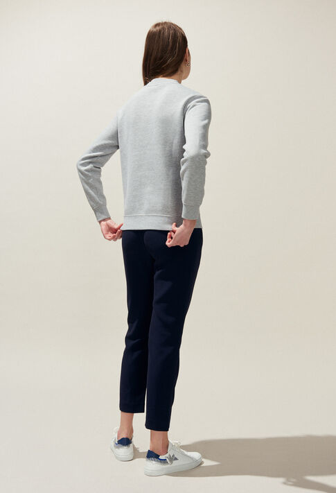TRUST : Knitwear & Cardigans color Mottled Grey