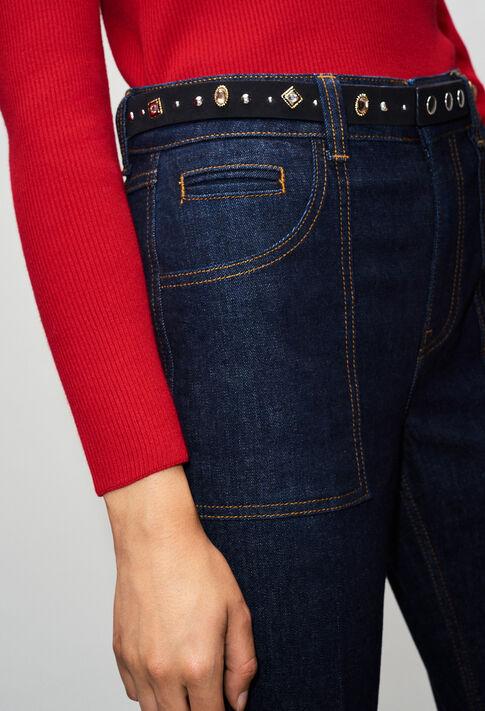 PARODIEH19 : Pantalons et Jeans couleur JEAN