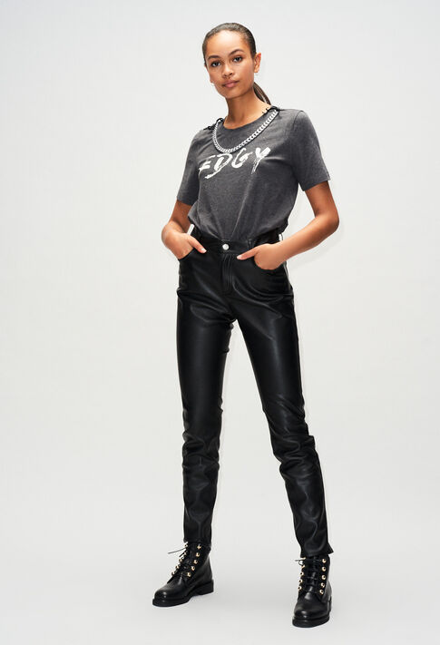 TEDGYH19 : T-Shirts farbe GRIS CHINE FONCE