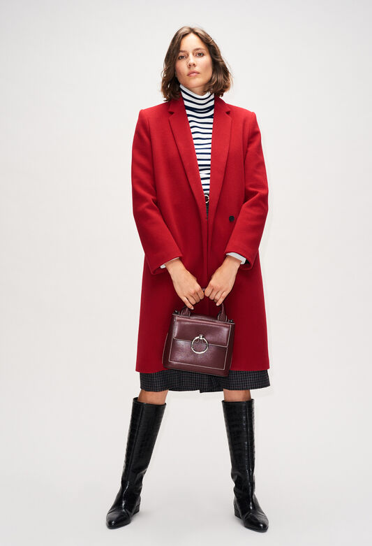 GOLDBISH19 : Coats & Jackets color CERISE