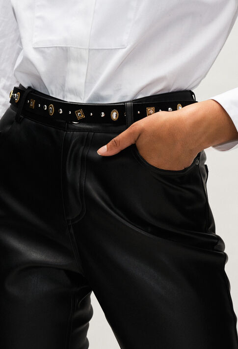 AVEGASSTRASSH19 : Belts color BLACK