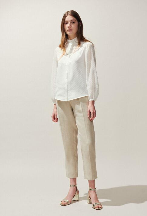 CALLY : Tops & Shirts color Ecru