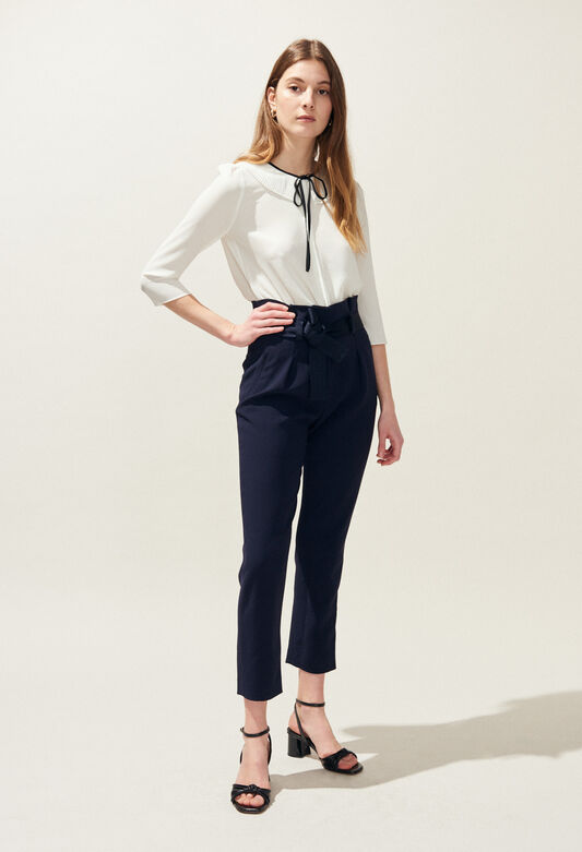 PAULETTA : Jeans & Pants color Navy