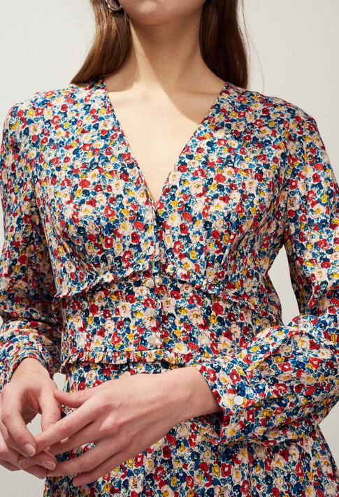 RIVABELLA : Kleider farbe MULTICO