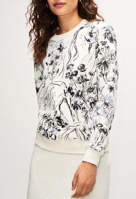 THIBAULTH19 : Maille & Sweatshirts couleur PRINT