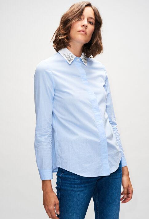 CAJOLINAH19 : Oberteile & Hemden farbe BLEUET