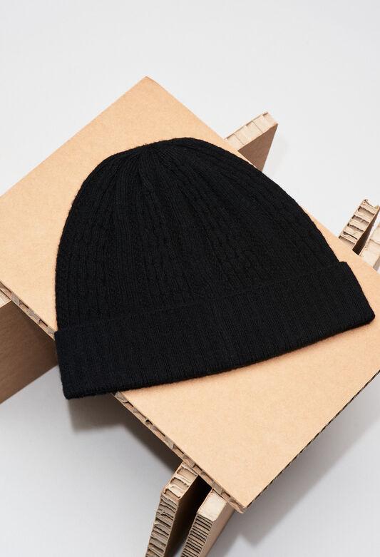 MODEMH19 : Bonnets et gants couleur NOIR