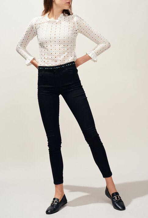 POWER : Jeans & Pants color Black