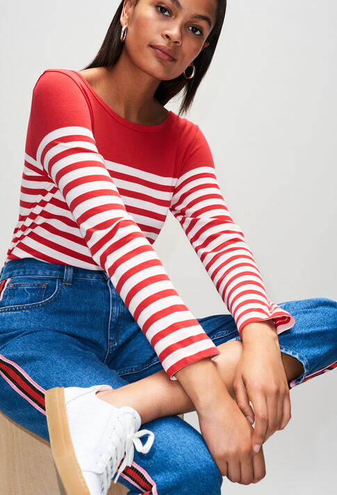 TROCADH19 : T-Shirts farbe ROUGE