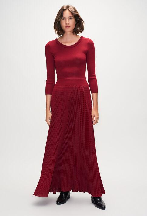 MAGNIFICAH19 : Kleider farbe CERISE