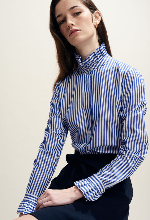 COLOMBE RAYEE : Tops & Shirts color Indigo