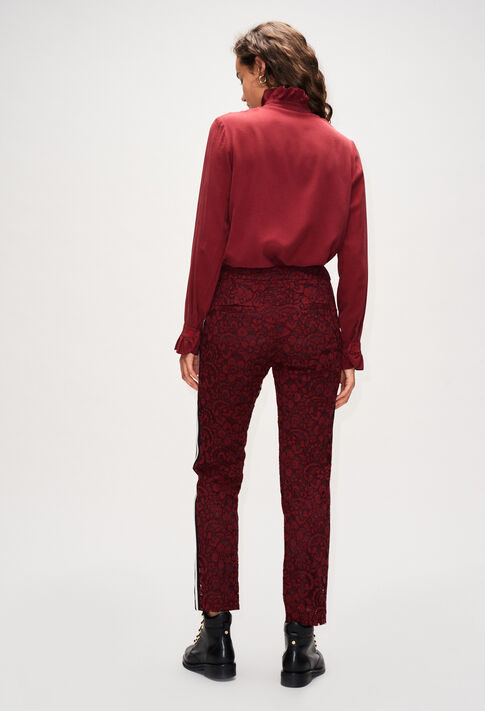 PARIDOH19 : Pantalons et Jeans couleur VELVET