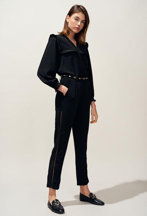 PAON : Hosen, Rocke & Shorts farbe Noir