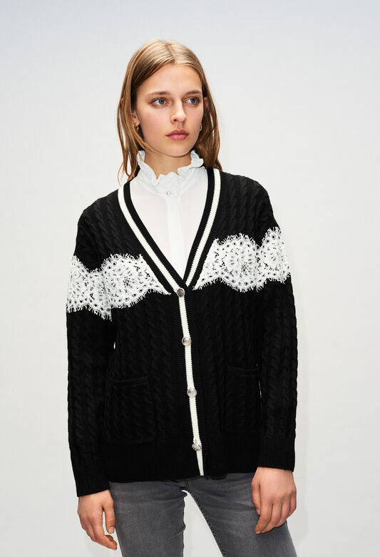 MIELH19 : Strick & Sweatshirts farbe NOIR