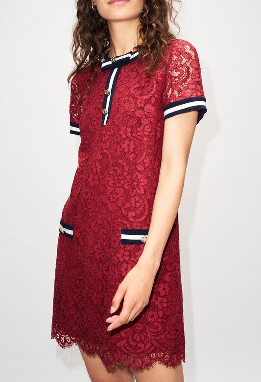 ROMILOAH19 : Robes couleur CERISE