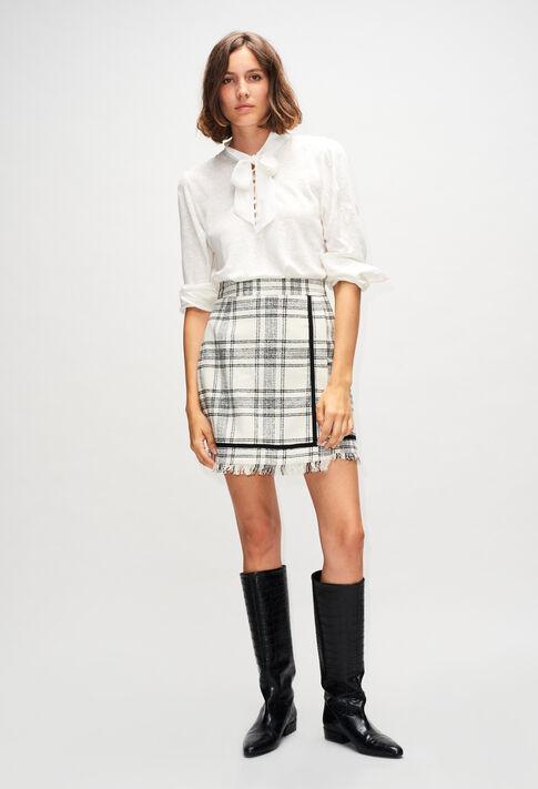 SUZANNEH19 : Jupes et Shorts couleur BICOLORE