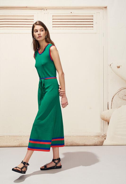 MELISSE : Kleider farbe VERT VEGETAL