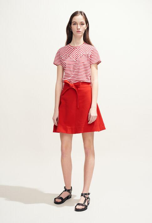 TOSCANE : T-Shirts farbe Ecarlate