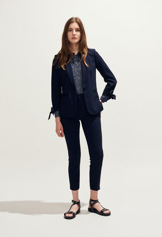 VIRGILH19 : Jacken farbe MARINE