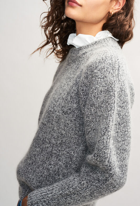 MATUREH19 : Strick & Sweatshirts farbe GRIS CHINE CLAIR