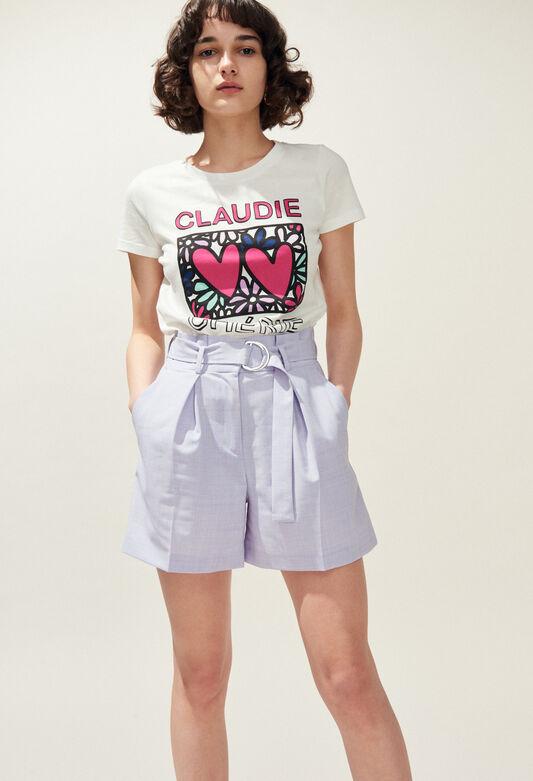 TIAMO : T-Shirts farbe ECRU
