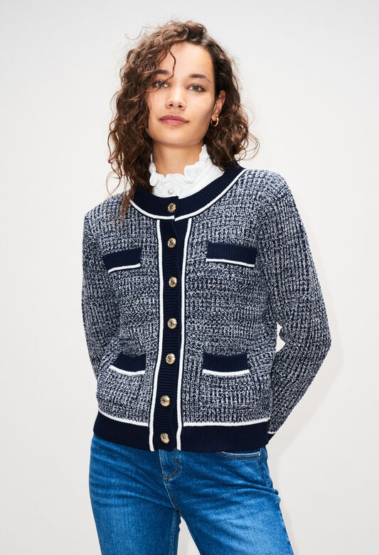 MARCYAH19 : Knitwear & Cardigans color NAVY