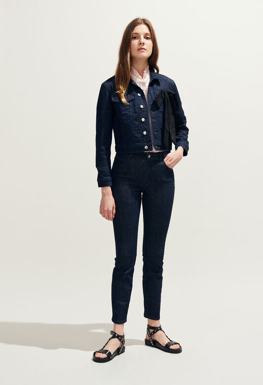 PEONY : Jeans & Pants color Jean