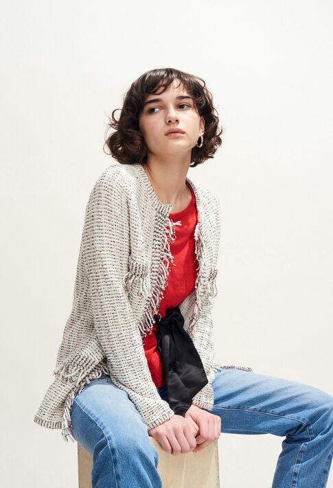 MATINA : Knitwear & Cardigans color Ecru